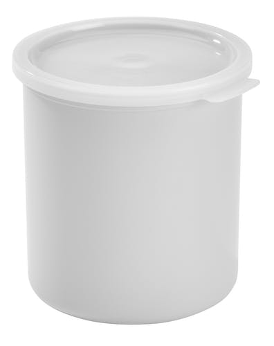 CP27148 White 2.7 QT Crock w/ Lid