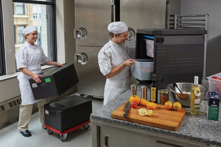 EPP400110 GoBox Front Loader w Other EPP in Kitchen