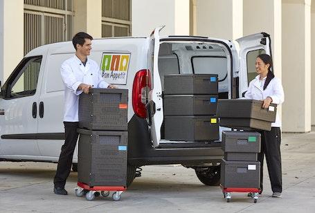 EPP400110 GoBox Front Loader w Loading Van