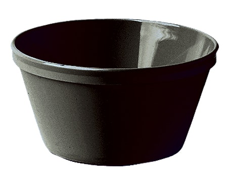 35CW110 Camwear Dinnerware Black 8.4 oz Bouillon Bowl