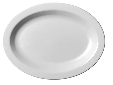 120CWP148 Camwear Dinnerware White Oval Platter