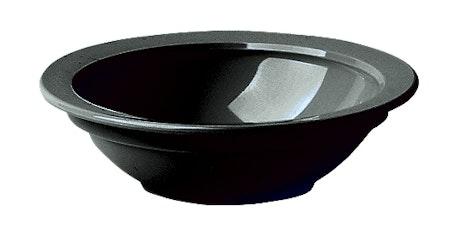 45CW110 Camwear Dinnerware Black 5 oz Fruit Bowl