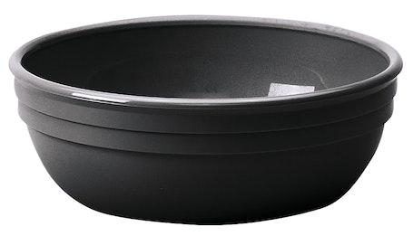 100CW110 Camwear Dinnerware Bowl - Black 12.5 oz Round