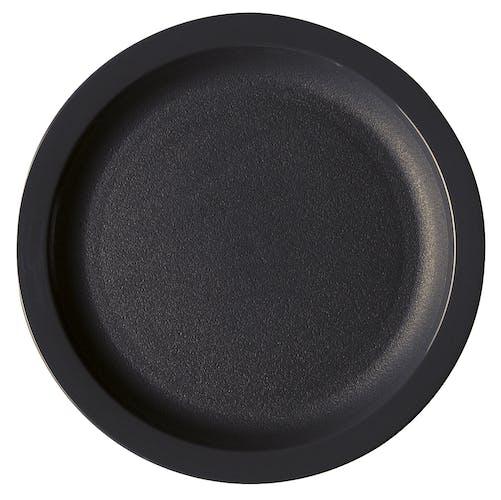 """825CWNR110 Camwear Dinnerware Black 8.25"""" Plate"""