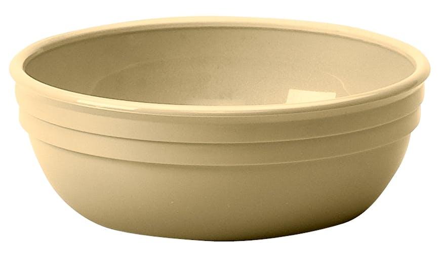 100CW133 Camwear Dinnerware Bowl - Beige 12.5 oz Round