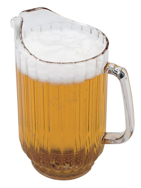 P480CW135 CamView Clear Pitcher 47 oz w Beer
