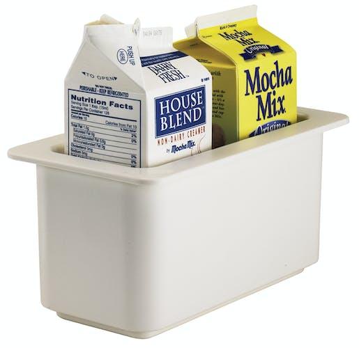 36CF148 ColdFest White 3.7 QT Pan w Creamers