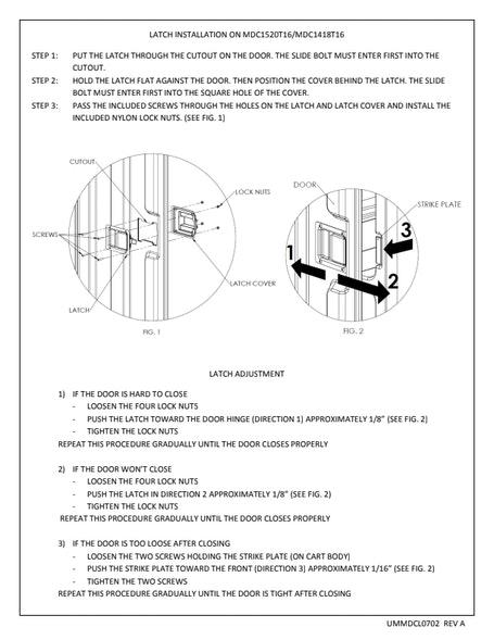 Latch Installation Manual