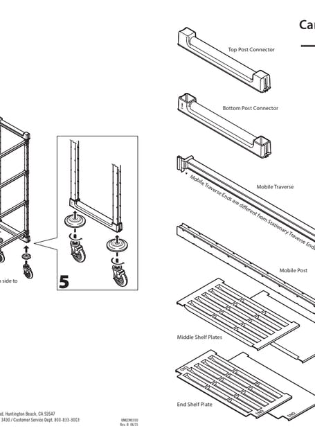 User Manual Camshelving Elements Mobile Unit