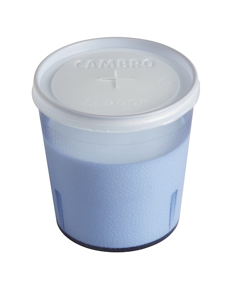CL900P190 Disposable Translucent Lid for Colorware Tumblers w Milk