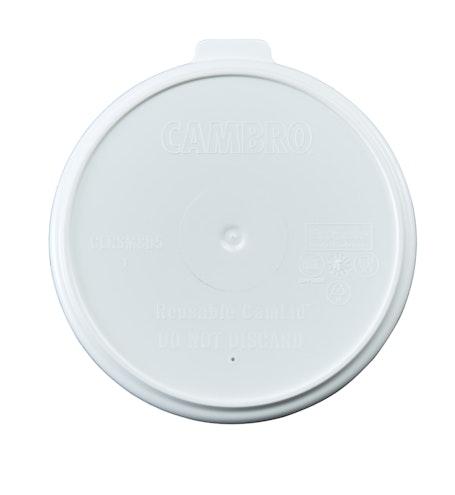 CLRSM8B5490 Reusable Speckled White Camlid for 8 oz Mug & 5 oz Bowl
