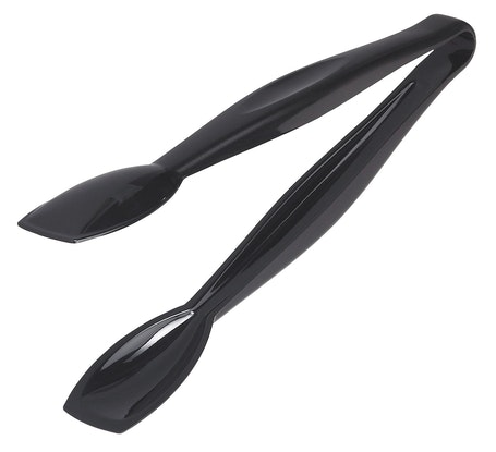 "TGG9110 Lugano Black Easy-Grasp 9.5"" Tongs"