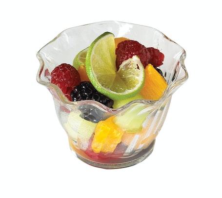 SRB5CW135 Camwear Clear 5 oz Swirl Bowl w/ Fruit