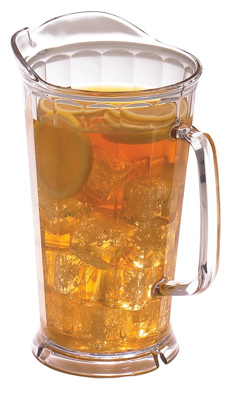 P64CW135 CamView Clear Pitcher 64 oz w Tea