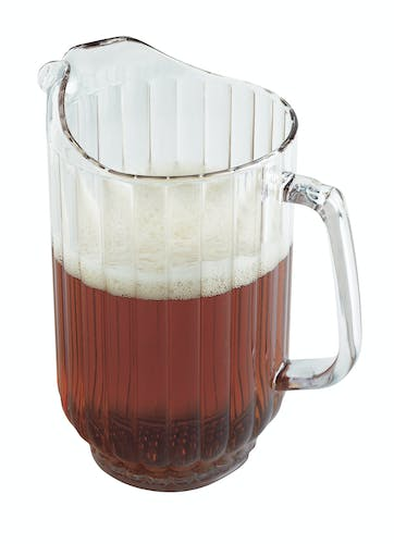 P600CW135 CamView Clear Pitcher 60 oz w Beer