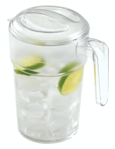 PC34CW135 CamView Clear Pitcher 34 oz w Water & Limes