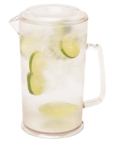 PC64CW135 CamView Clear Pitcher 64 oz w Water & Lime
