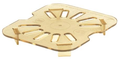 60HPD150 Amber Sixth Size H-Pan Drain Shelf