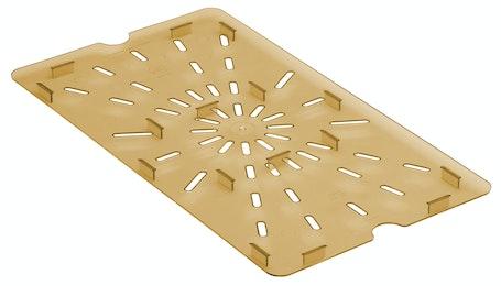 10HPD150 Amber Full Size H-Pan Drain Shelf