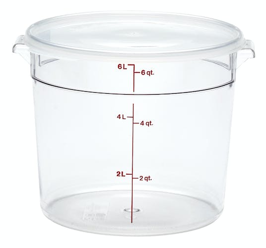 RFSCW6135 Camwear Clear 6 QT Round Container