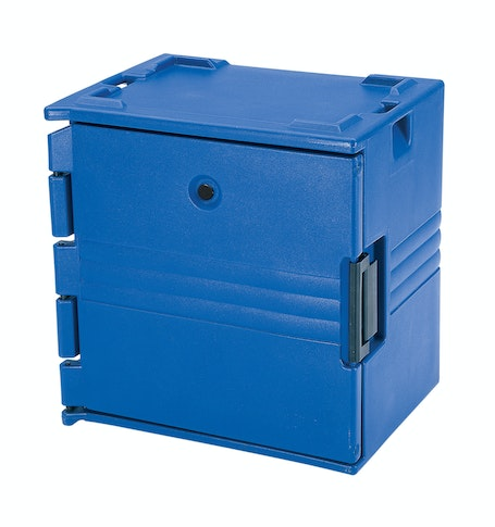 BK60406186 Navy Blue 6-Rail Insulated Bakery Container