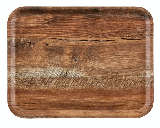Madeira – Laminated Trays With Textured Wood Surface