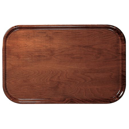Holztabletts Mit Glatter Oberfläche