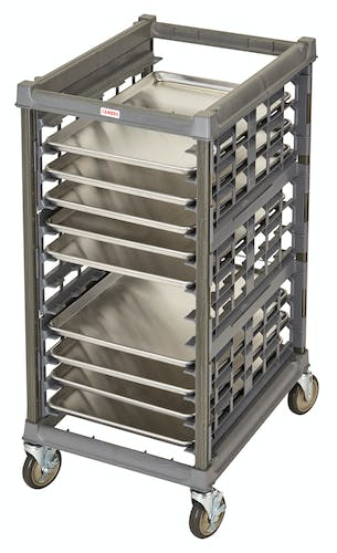 "UPR1826H12580 Half Size Ultimate Sheet Pan Rack w 3"" Spacing & Metal Casters"