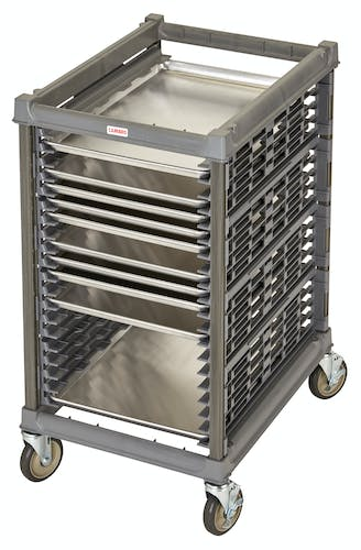 "UPR1826H20580 Half Size Ultimate Sheet Pan Rack w 1.5"" Spacing & Metal Casters"