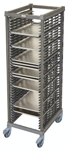 "UPR1826FP40580 Full Size Ultimate Sheet Pan Rack w 1.5"" Spacing & Plastic Casters"
