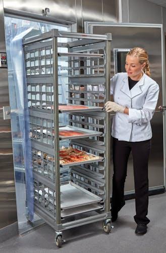 "UPR1826F20580 Full Size Ultimate Sheet Pan Rack w 3"" Spacing in Freezer"