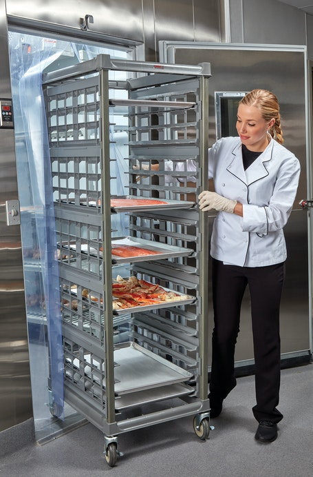 "UPR1826F20580 Full Size Ultimate Sheet Pan Rack w 3"" Spacing in Freezer"