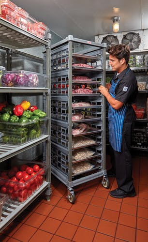 """UPR1826F20580 Full Size Ultimate Sheet Pan Rack w 3"""" Spacing & Chef Storing"""
