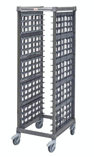 "UPR1826FP20580 Full Size Ultimate Sheet Pan Rack w 3"" Spacing & Plastic Casters"