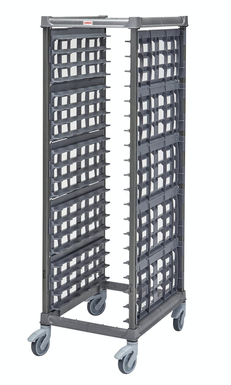 "UPR1826FP20580 Full Size Ultimate Sheet Pan Rack w 3"" Spacing & Plastic Casters"