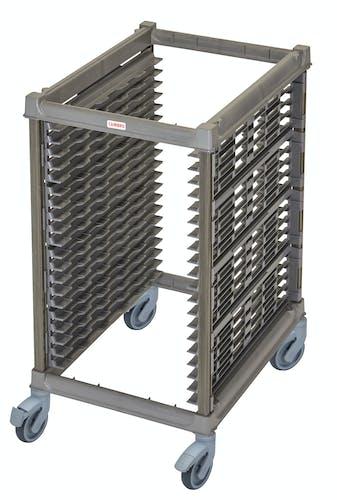 "UPR1826HP20580 Half Size Ultimate Sheet Pan Rack w 1.5"" Spacing & Plastic Casters"
