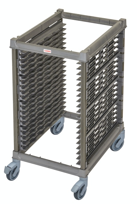 "UPR1826HP20580 Half Size Ultimate Sheet Pan Rack w 1.5"" Spacing & Plastic Casters"