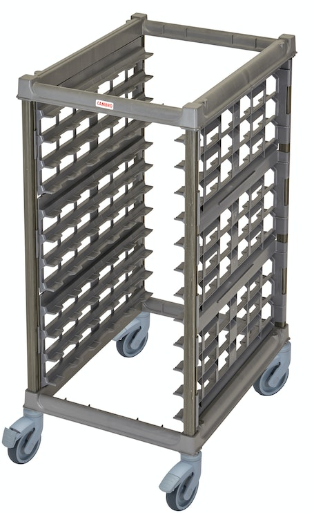 "UPR1826HP12580 Half Size Ultimate Sheet Pan Rack w 3"" Spacing & Plastic Casters"