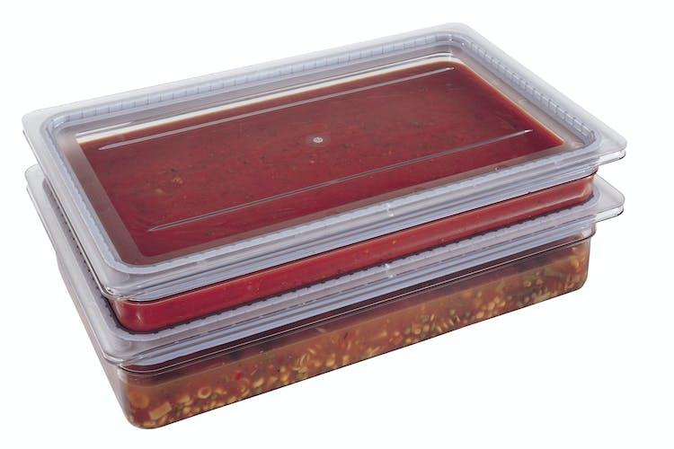 10CWGL135 GripLid w Full Size Pans & Food
