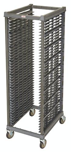 "UPR1826F40580 Full Size Ultimate Sheet Pan Rack w 1.5"" Spacing & Metal Casters"