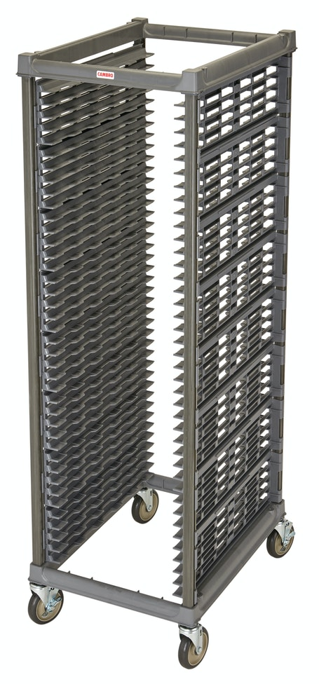"UPR1826F40580 Full Size Ultimate Sheet Pan Rack w 1.5"" Spacing & Metal Casters"