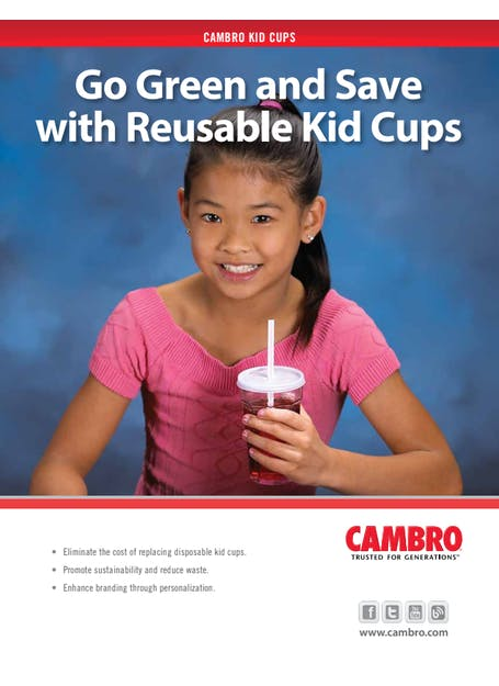 Spec Sheet - Cambro Kid Cups