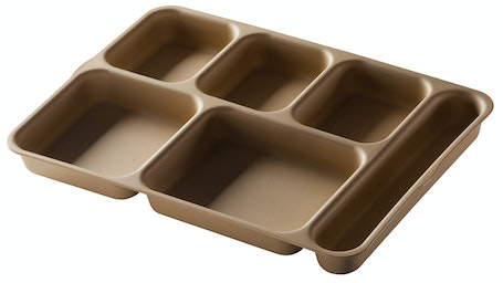 10146DCP161 Tan Separator Compartment Tray
