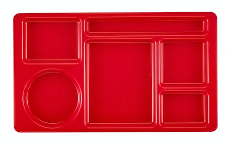 915CW404 2 x 2 Red Camwear Compartment Tray