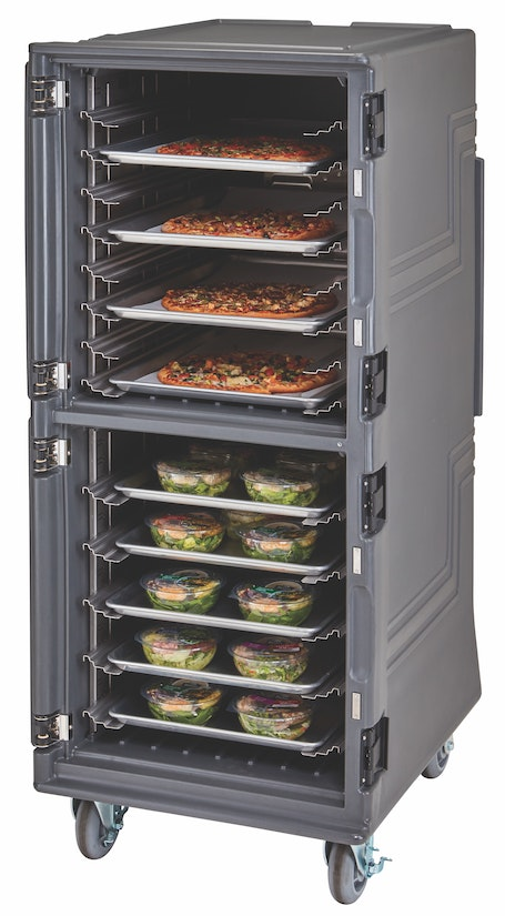 PCUPP615 Charcoal Gray Tall Pro Cart Ultra - Passive w Open Door
