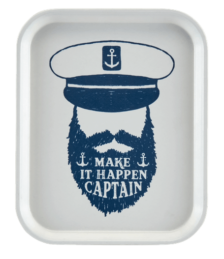Captain Personalized White