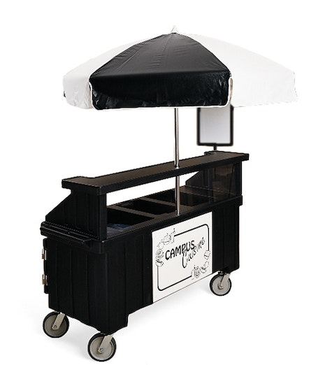 CVC72110 Black Camcruiser Vending Cart