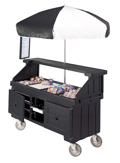 CVC724110 Black Camcruiser Vending Cart