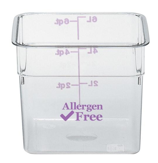 Camsquares® Libre de alérgenos