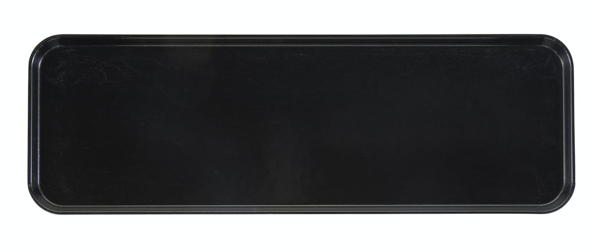 "826MT110 Market Tray 8"" X 26"" Black"